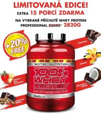 Scitec 100% Whey Protein Professional 2820 g EXTRA BONUS