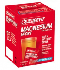 Enervit Hořčík + Draslík ( Magnesium + Potassium Sport) 10x15g