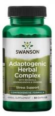 Swanson Adaptogenic Herbal Complex 60 kapslí