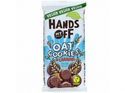 Hands Off My Chocolate Vegan 70% Dark Chocolate Oat Cookies & Caramel 100 g