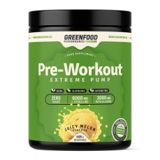 GreenFood Performance Pre-Workout 495 g