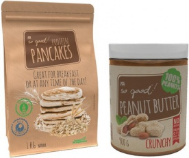 FA So Good Protein Pancakes 1000g + Peanut Butter 900g