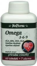 Medpharma Omega 3-6-9 67 kapslí