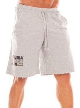 Nebbia Fitness šortky Hard 944 světle šedé - M