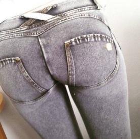 Freddy WR.UP® Jeans šedé