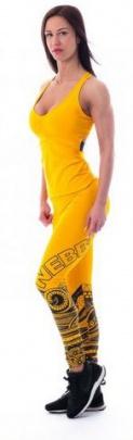 Nebbia Supplex tílko 218 žluté - S