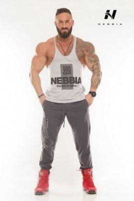 Nebbia Fitness tílko 970 bílé