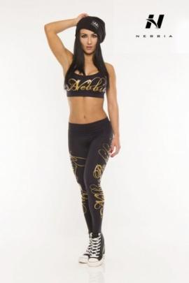 Nebbia Legíny Supplex Gold 810 černé
