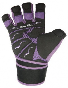 Power System Fitness rukavice REBELL GIRL fialová DOPRODEJ