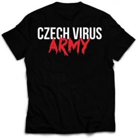 Czech Virus Pánské Triko černé