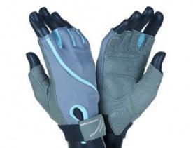 Mad Max rukavice Klaudia No.91 šedo/modré