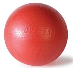 Overball SoftGym 26 cm červený