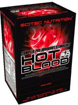 Scitec Hot Blood 3.0 25 x 20g PROŠLÉ DMT