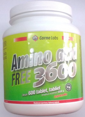 Carne Labs Amino Acid 3600 600 tablet