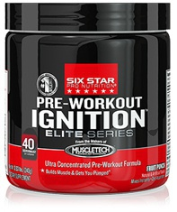 Six Star Pre-Workout Ignition 240 g PROŠLÉ DMT