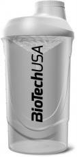 BioTechUSA šejkr Wave 600 ml průhledný