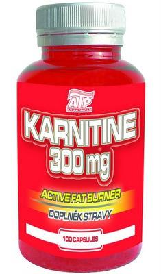 ATP Karnitine 300 mg 100 kapslí
