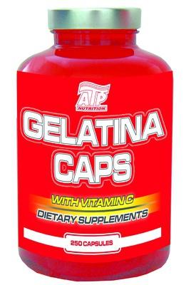ATP Gelatina Caps with Vitamin C 250 kapslí