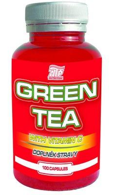 ATP Green Tea - zelený čaj extrakt 100 kapslí