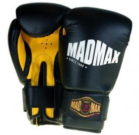 Mad Max Boxovací rukavice tréninkové černé