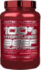 Scitec 100% Hydrolyzed Beef Isolate Peptides 900 g - jahoda VÝPRODEJ