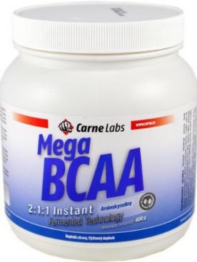 Carne Labs Mega BCAA 2:1:1 Instant Fermented 400 g - pomeranč PROŠLÉ DMT