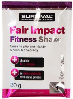 Survival Fair Impact Fitness Shake vzorek 30 g - borůvka