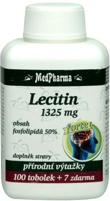 MedPharma Lecitin 1325mg 107 tobolek