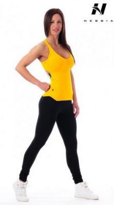 Nebbia Supplex tílko 218 žluté - M