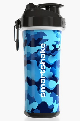 Levně SmartShake Double Wall 750 ml - camo blue
