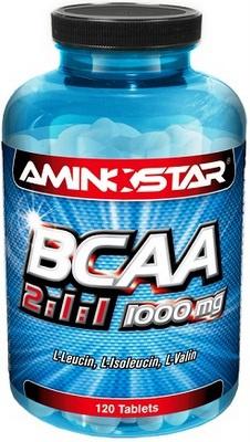 Levně Aminostar BCAA 2:1:1 1000mg 120 tablet