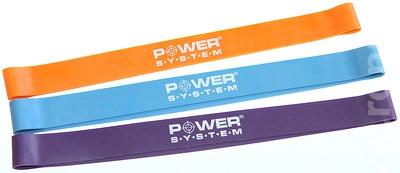 Power System posilovací guma mini loop - modrá strong