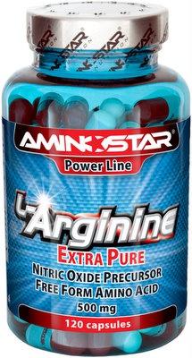 Levně Aminostar L-Arginine Extra Pure 360 kapslí