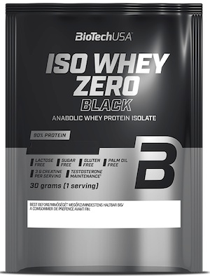 Levně Biotech USA BioTechUSA Iso Whey Zero Black 30 g - čokoláda