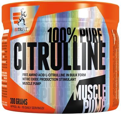 Levně Extrifit Citrulline Pure Powder 300 g - pomeranč
