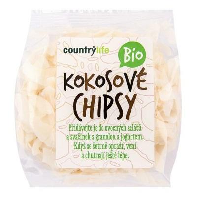 Country life BIO Kokosové chipsy 150 g