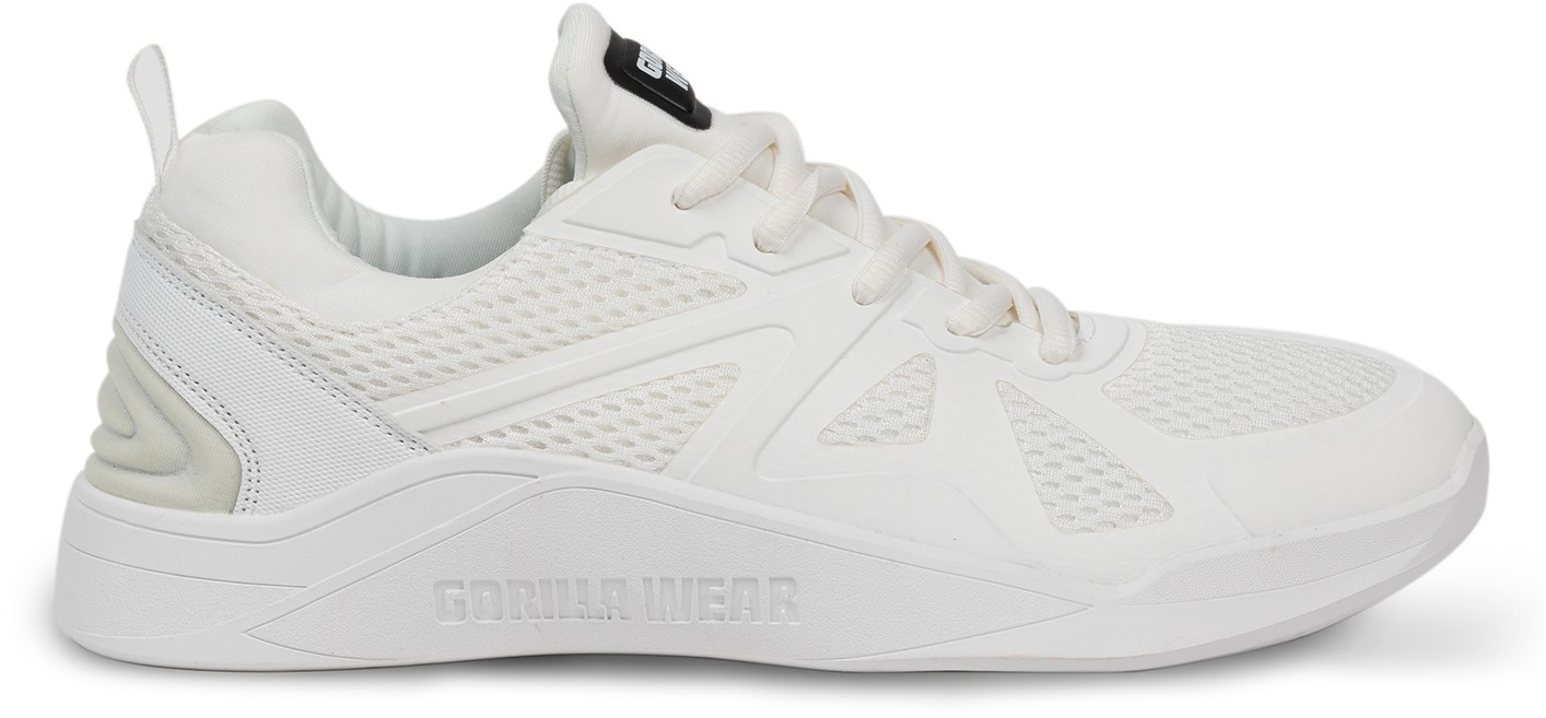 Levně Gorilla Wear obuv Gym Hybrids White/White - 43