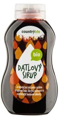 Country life BIO Sirup datlový 250 ml