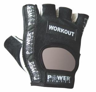 Power System rukavice WORKOUT černé - XXL