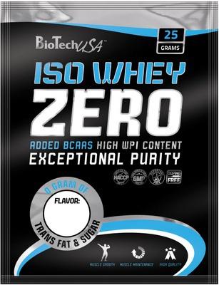 Biotech USA BioTechUSA Iso Whey Zero 25 g - cookies & cream