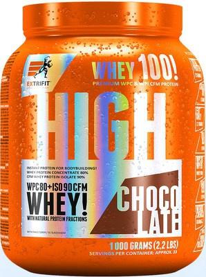 Levně Extrifit High Whey 80 1000 g - oříšek