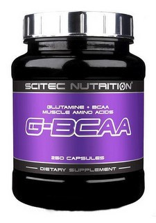 Scitec Nutrition Scitec G-BCAA 250 kapslí