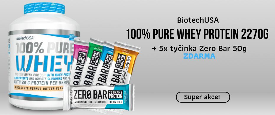 Bulk Powders Pure Whey Protein 2500g + BCAA ZDARMA