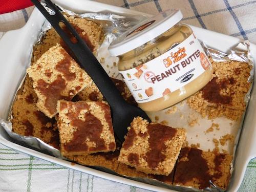 Cheerios tyčinky s arašídovým máslem Lucky Alvin Fitness007
