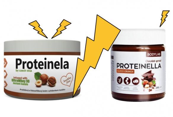 Není proteinela jako proteinella. Pomazánkový skandál?