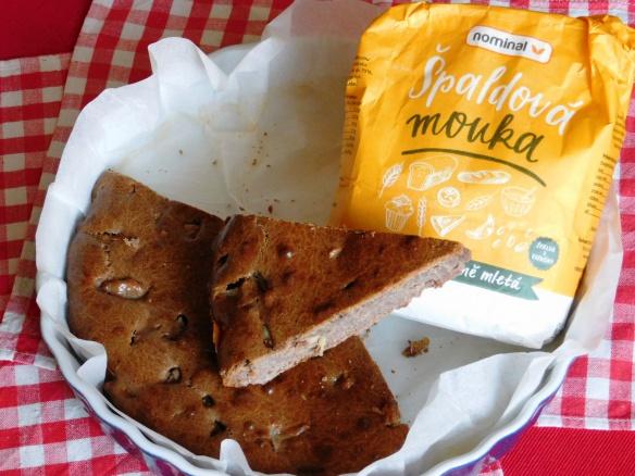Hruškový koláč ze špaldové mouky pro doplnění energie. Proč jíst špaldu?