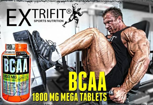 BCAA 1800 mg Mega Tablets - světově unikátní aminokyseliny