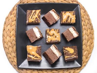 Rychlý recept na proteinové kakaové řezy