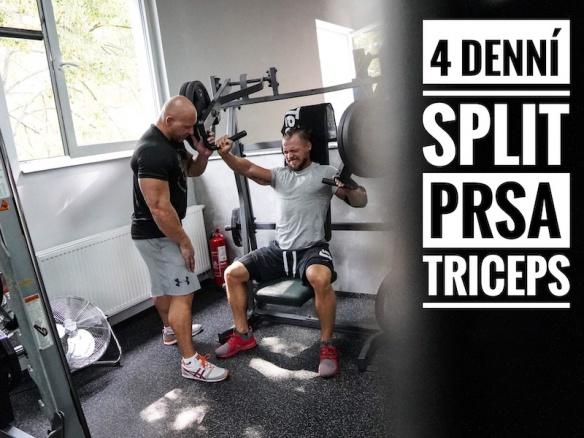 Trénink B | Nejlepší cviky na prsa a triceps.