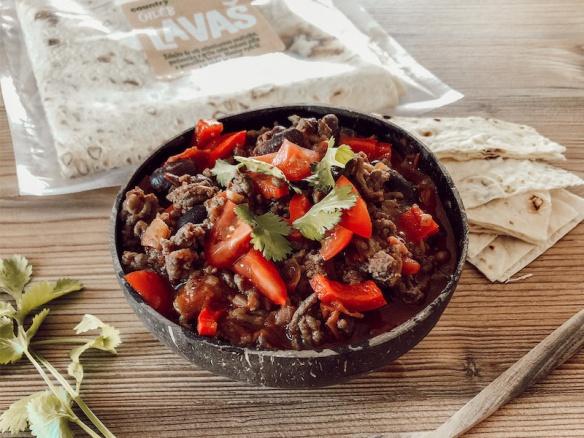 Recept: Nejlepší Chilli Con Carne s Lavašem.